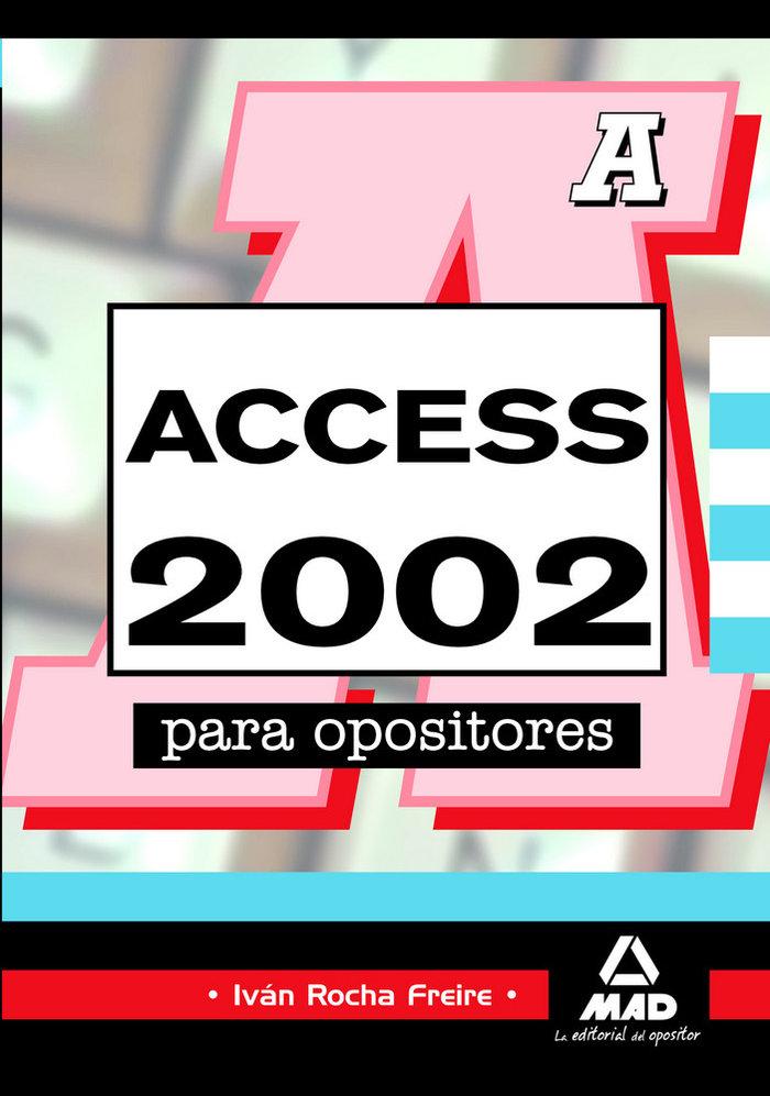 Access 2002 para opositores