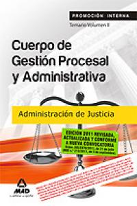 Gestion procesal adm. justicia promocion interna ii