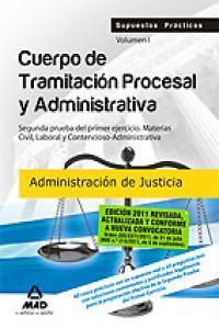 Cuerpo de tramitacion procesal administrativa vol i administ