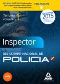 Inspectores cuerpo nacional policia vol 1 ciencias juridica