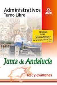 Administrat.j.andalucia turno libre test y examen 2011