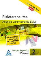 Fisioterapeutas de la agencia valenciana de salud. temario e