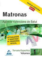 Matronas de la agencia valenciana de salud. temario especifi