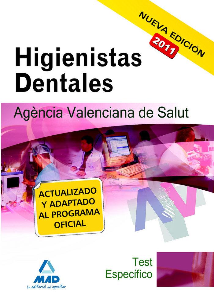 Higienistas dentales, agencia valenciana de salud. test de l