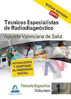 Tecnicos especialistas de radiodiagnostico de la agencia val