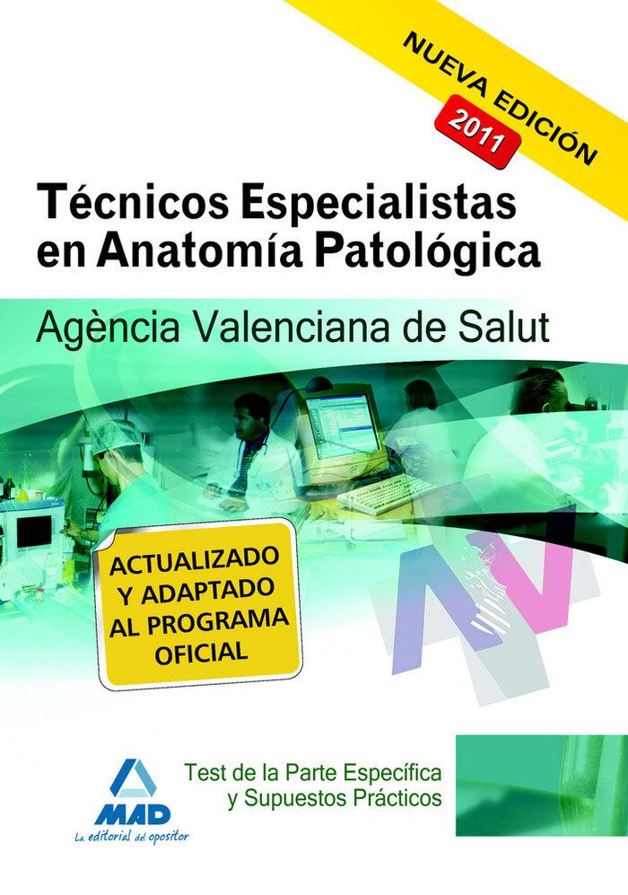 Tecnicos especialistas de anatomia patologica, agencia valen
