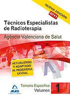 Tecnicos especialistas de radioterapia de la agencia valenci