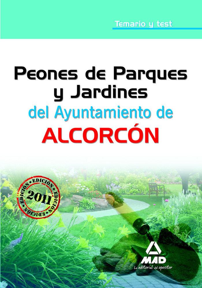 Peones de parques y jardines, ayuntamiento de alcorcon. tema