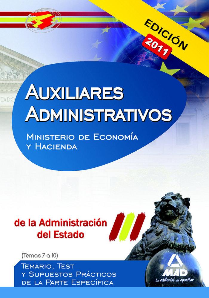 Auxiliar administrativos admcion del estado temas 7 -10