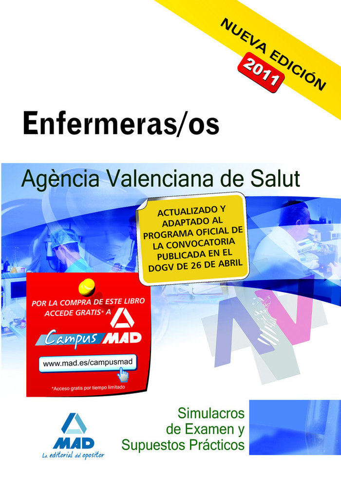 Enfermeras/os (ats/due) agencia valenciana de salut simula