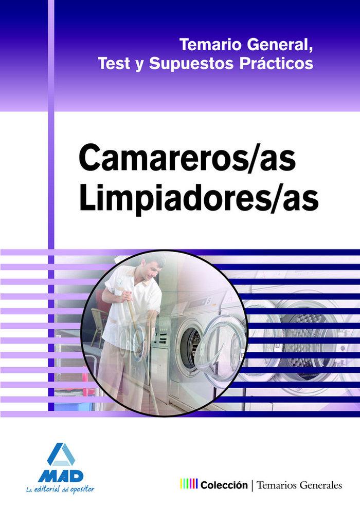 Camareros/as limpiadores/as general temario y test