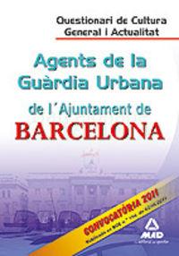 Agents de la guardia urbana, ajuntament de barcelona. questi