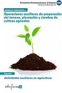 Preparacion terreno plantacion y siembra de cultivos i cp