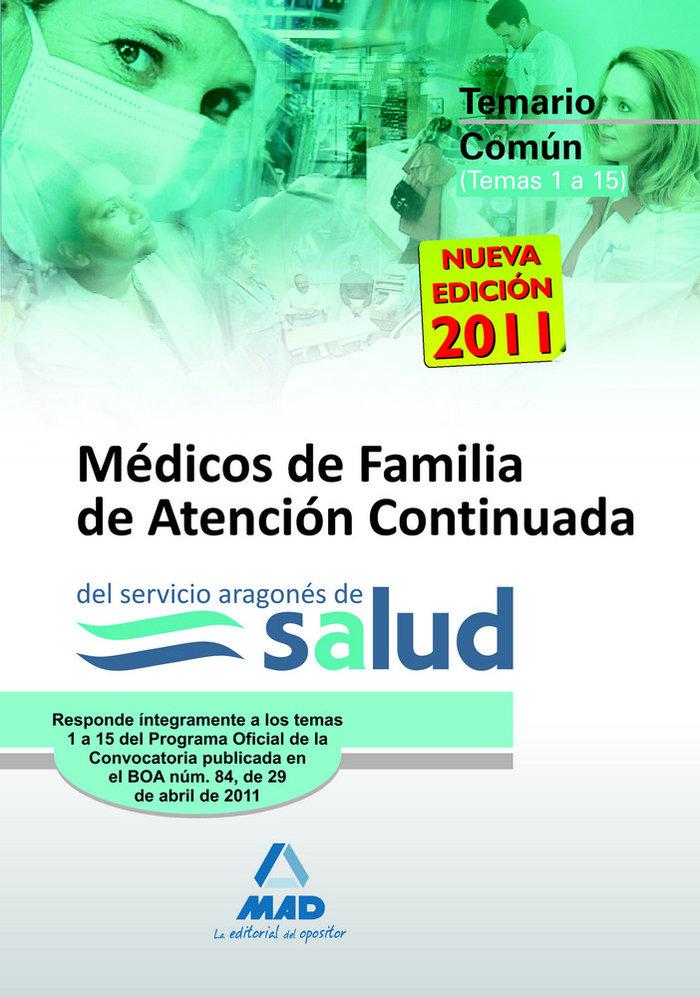 Medicos de familia de atencion continuada, servicio aragones