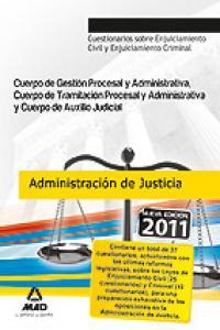 Cuerpo administracion de justicia cuerpo gestion y administr