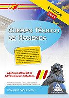 Tecnico hacienda volumen 1