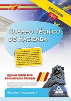 Temario cpo tecnico hacienda volumen 2