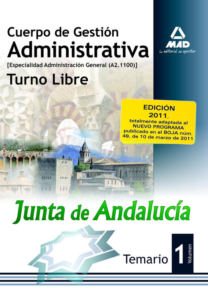 Cuerpo de gestion administrativa junta de andalucia libre i