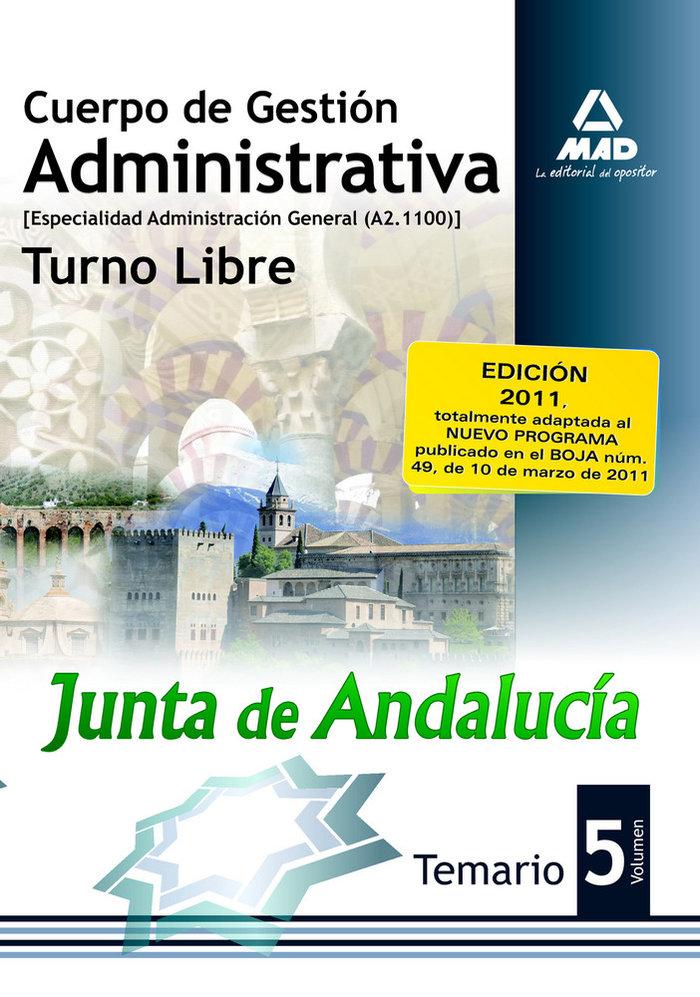 Cuerpo de gestion administrativa junta de andalucia libre v
