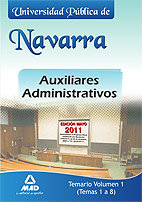 Temas 1 a 8 auxiliares admon navarra
