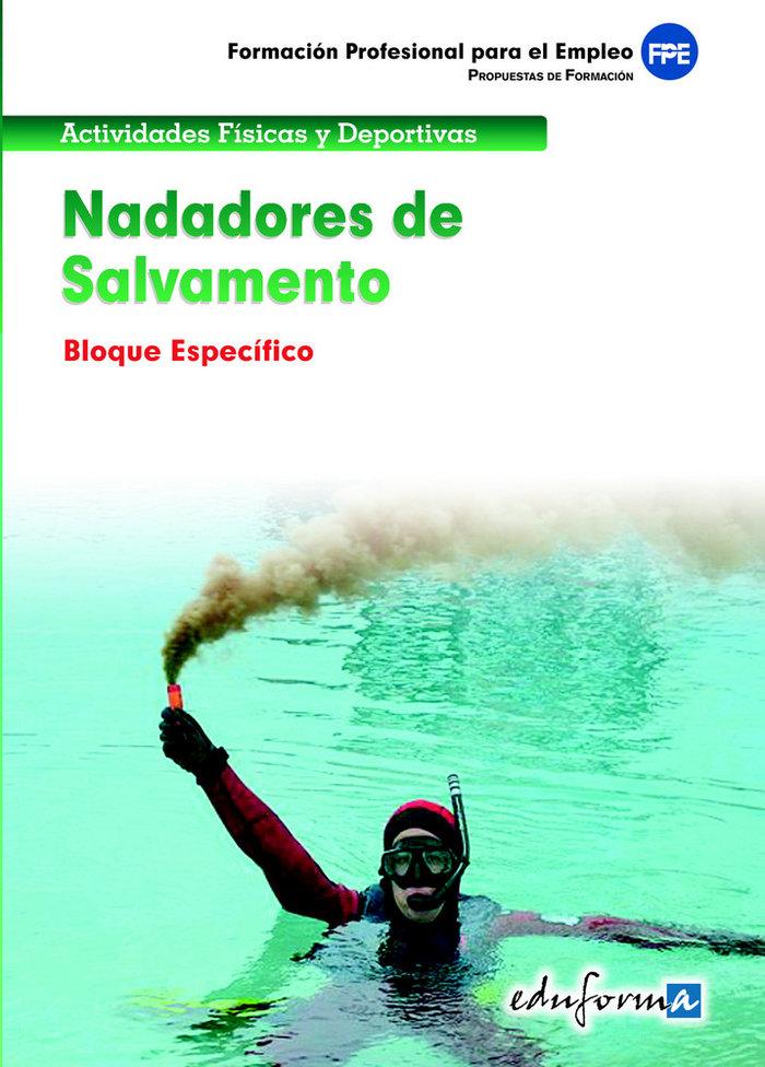 Nadadores de salvamento especifico