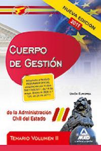 Cuerpo de gestion de la administracion del estado ii