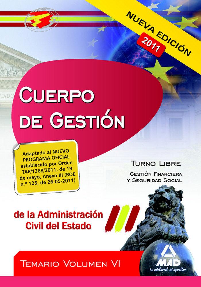 Cuerpo de gestion de la administracion del estado vi