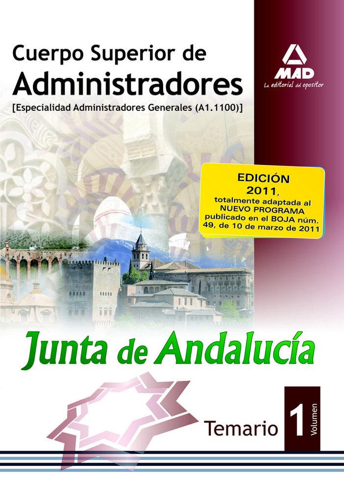 Cuerpo sup. administradores junta de andalucia i general