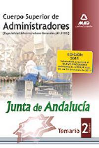 Cuerpo sup. administradores junta de andalucia ii general