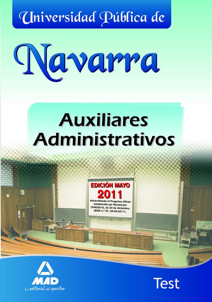 Auxiliares administrativos, universidad publica de navarra.