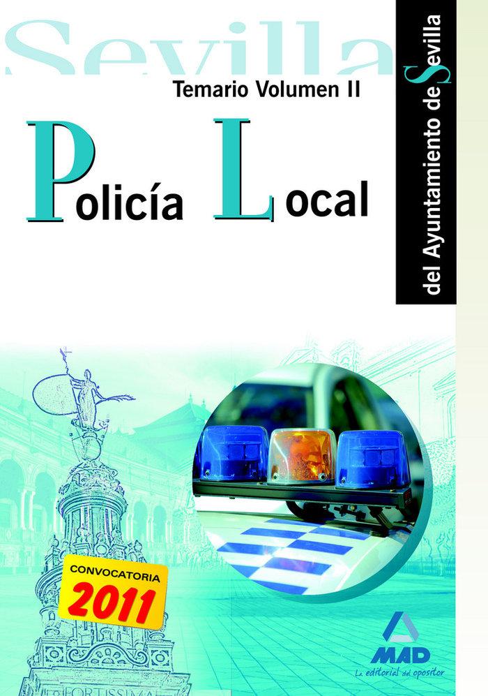 Policia local del ayuntamiento de sevilla ii