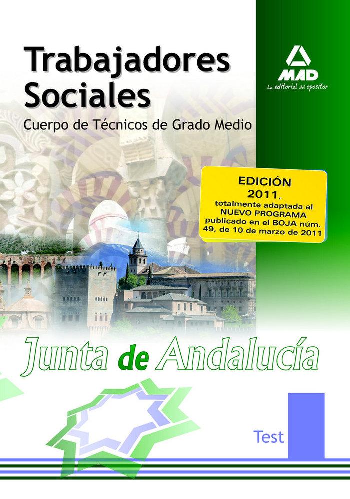 Trabajadores sociales j.andalucia test 2011