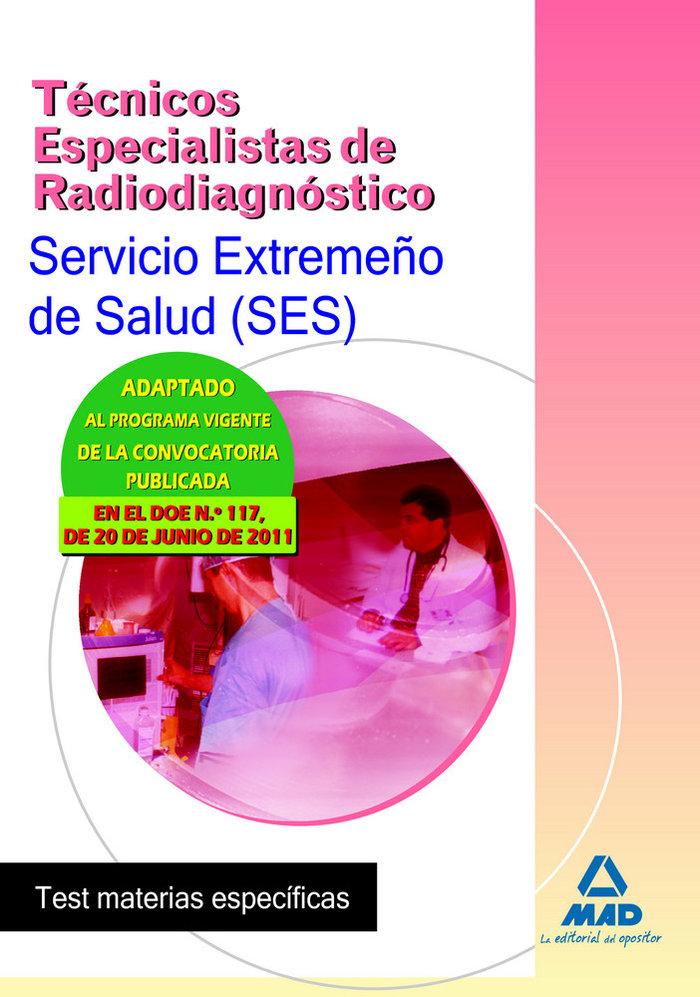 Tecnicos especialistas radiodiagnostico ses test materias es