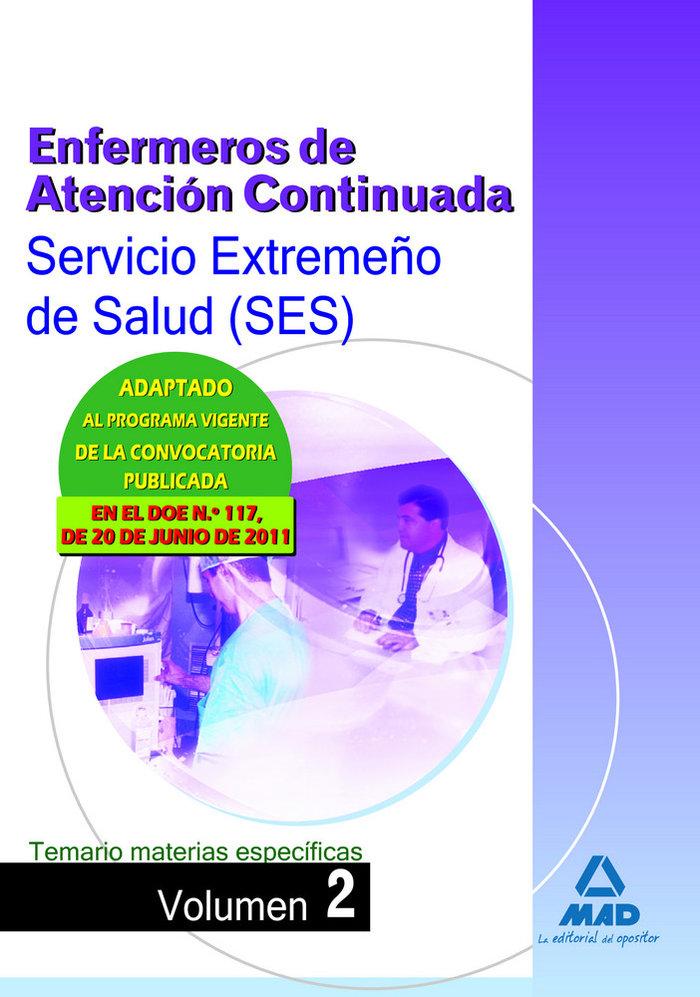 Enfermeros atencion conti.ses 2011 te.ma.es ii
