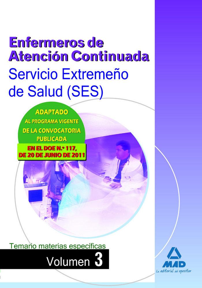 Enfermeros atencion conti.ses 2011 te.ma.es iii
