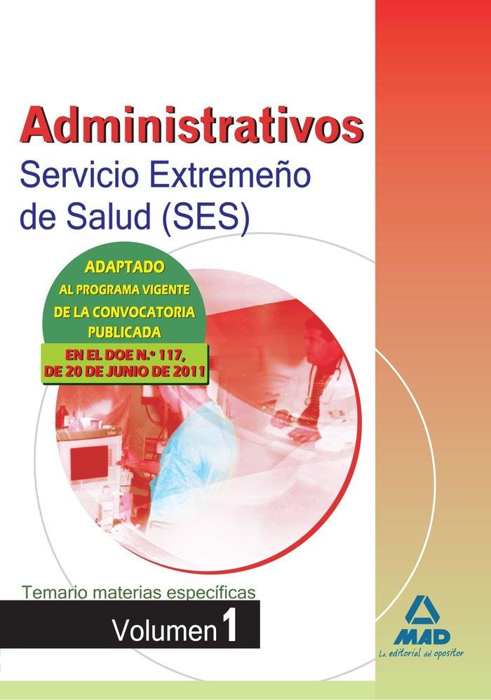 Administrativos ses 2011 temario mat.espe. i
