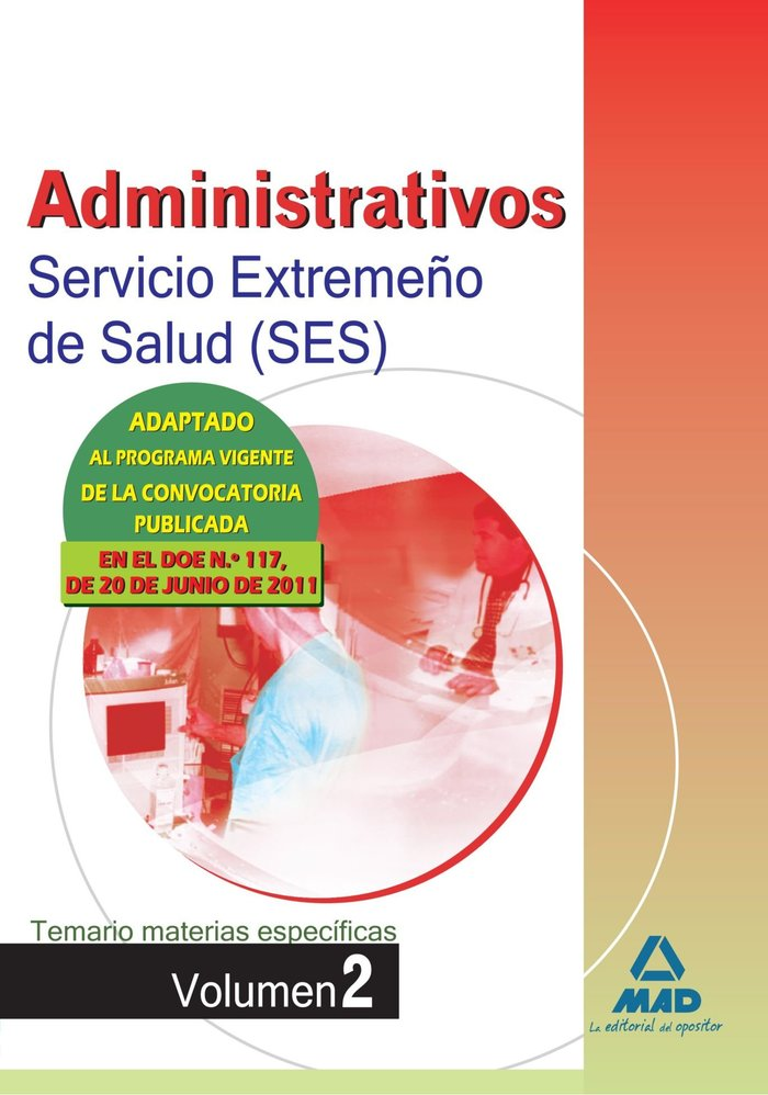Administrativos ses 2011 temario mat.espe. ii