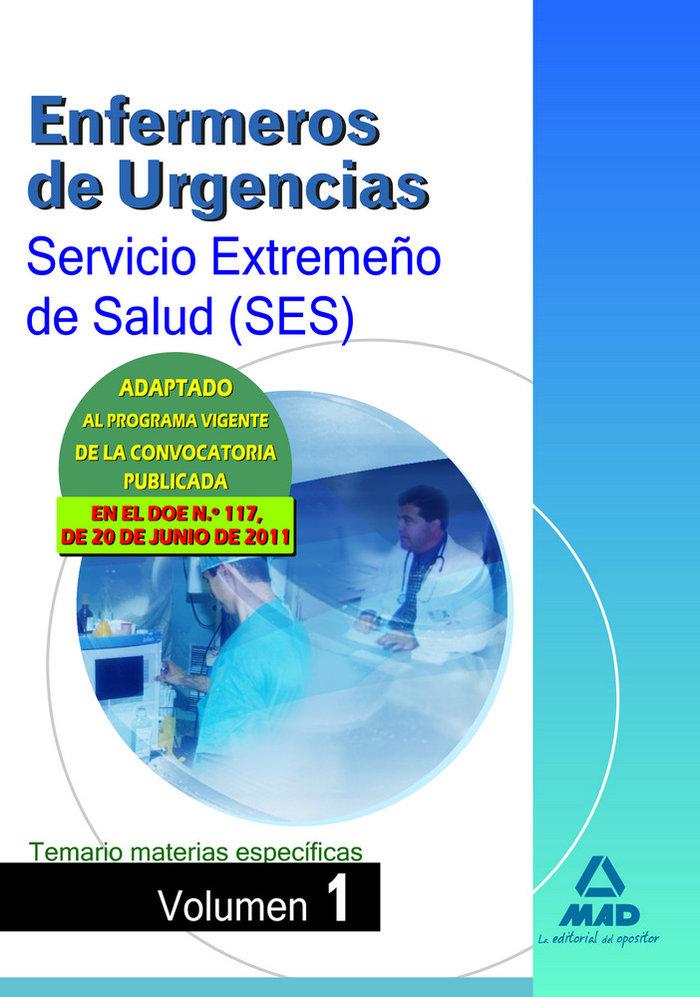Enfermeros urgencias ses 2011 tem.mat.espe.i