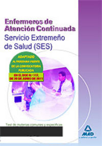 Enfermeros atencion continuada ses test materias comunes y e