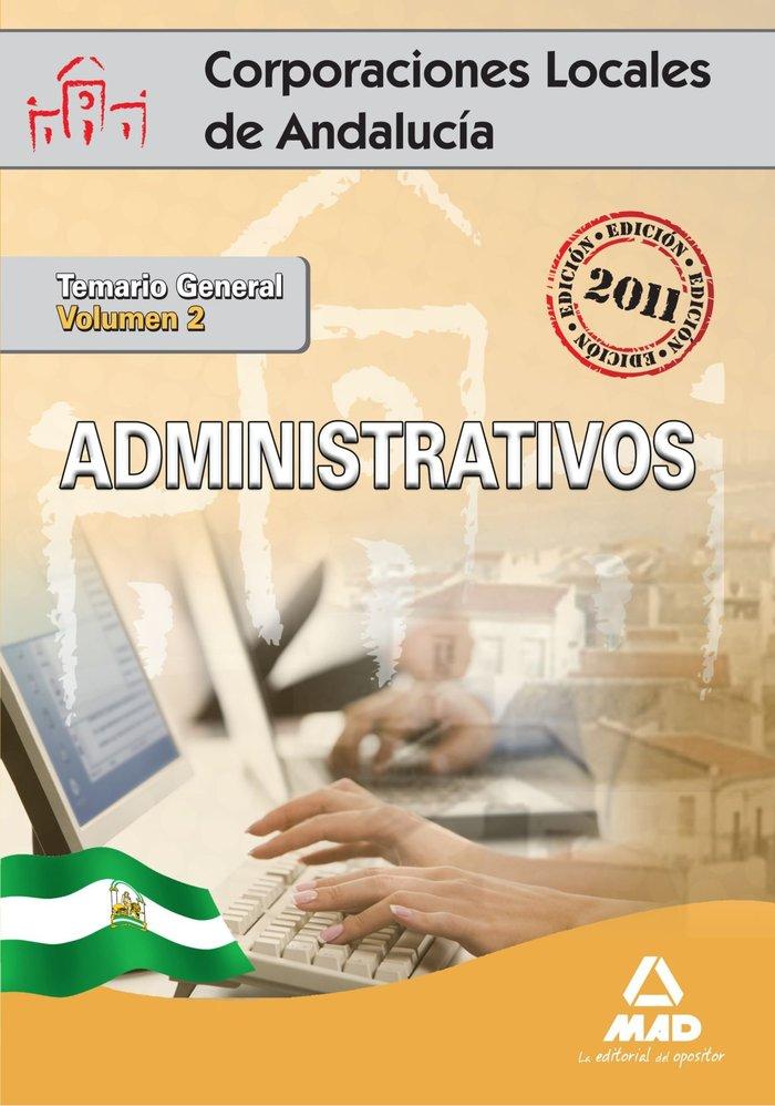 Administrativos corp.loc. junta andalucia vol ii temario