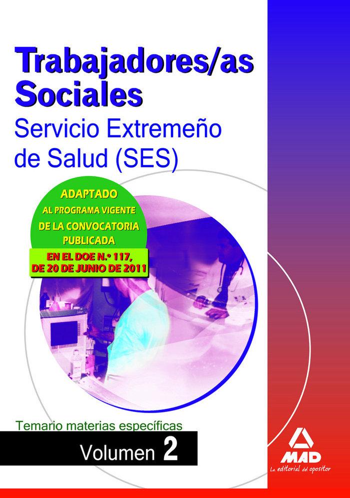 Trabajadores sociales ses ii 11 tema. materias especiaficas