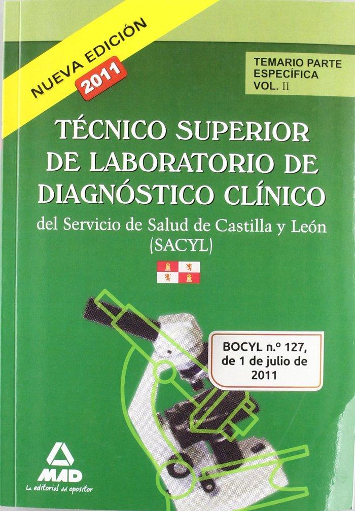 Tecnico superior de laboratorio de diagnostico clinico, serv