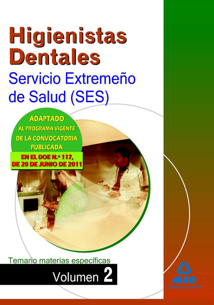 Higienista denteal ses 11 tema. materias espe.ii