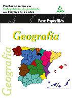 Geografia pruebas acesso universidad 25 años 2011