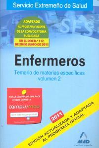 Enfermeros temario ii 2011 materias espacificas