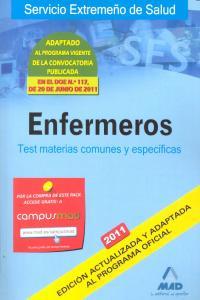 Enfermeros 2011 test materias comunes y especificas