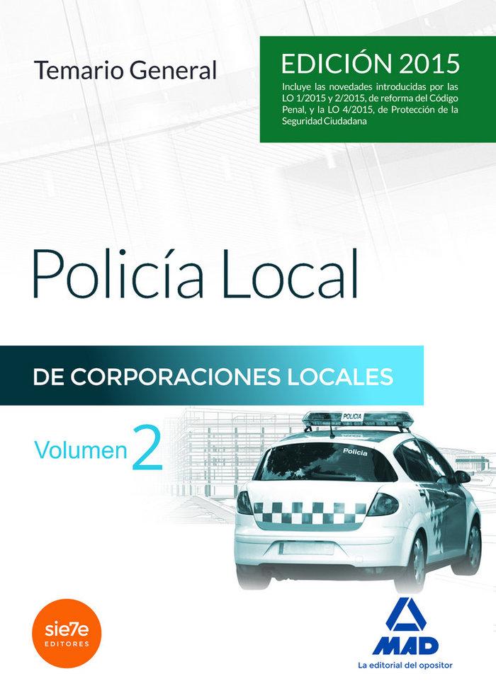 Policia local temario general vol 2