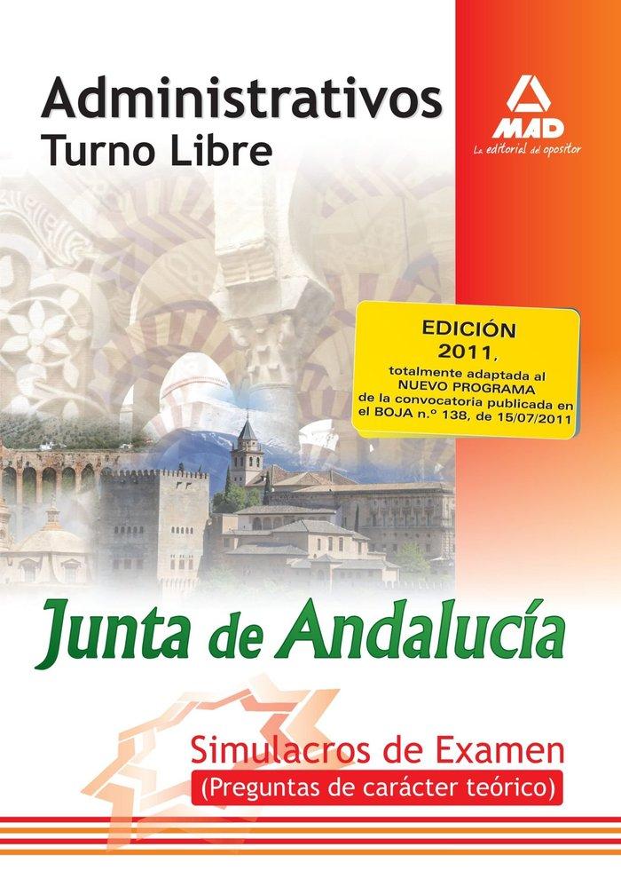 Administrativos junta de andalucia libre examenes
