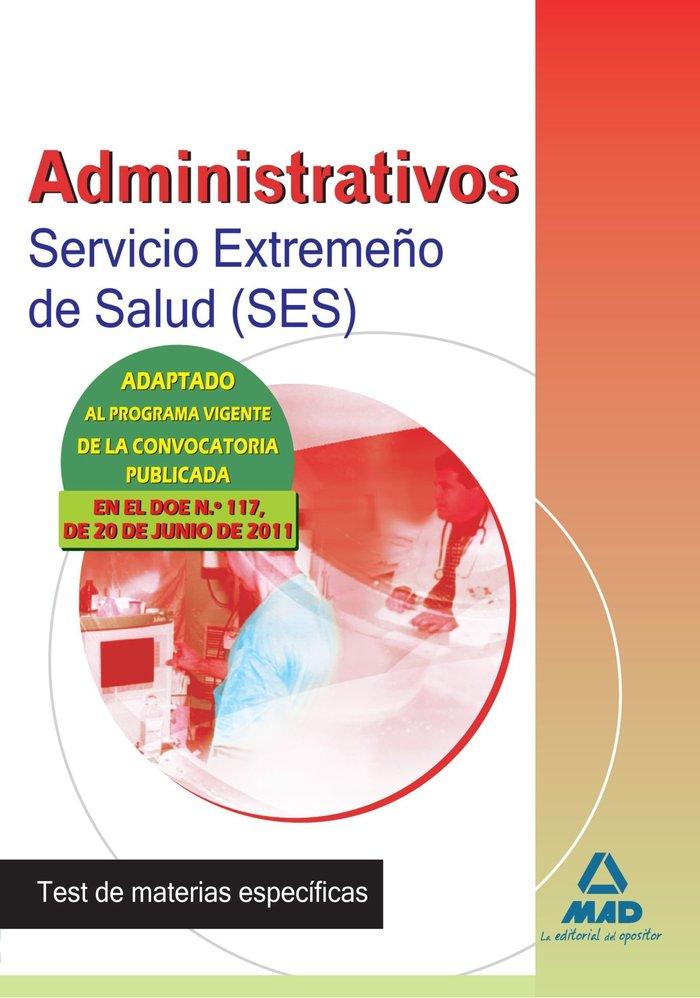 Administrativos ses 11 test materias especificas