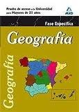 Geografia fase especifica pru.acceso univ.mayores 25 años ne